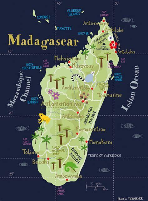 map  madagascar bucket list map  madagascar map