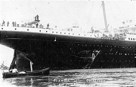 Did Olympic Sink by The Olympic Switch Theory Did The Titanic Really Sink
