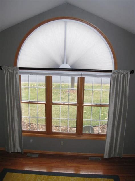 arched window treatments adjust  view moveable arches
