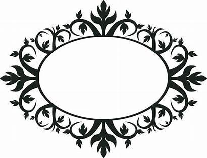 Oval Frame Ornament Clip Svg Onlinelabels