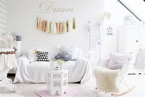Chambre Fille Scandinave : une chambre de fille pastel ~ Melissatoandfro.com Idées de Décoration