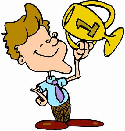 Trophy Clipart Cartoon Clip Sports Clipartion Games