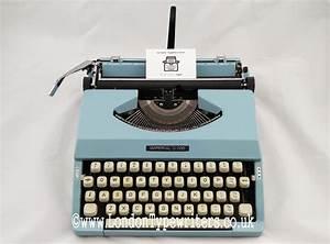 Working Imperial Litton 200 Manual Typewriter  U2013 New Ribbon