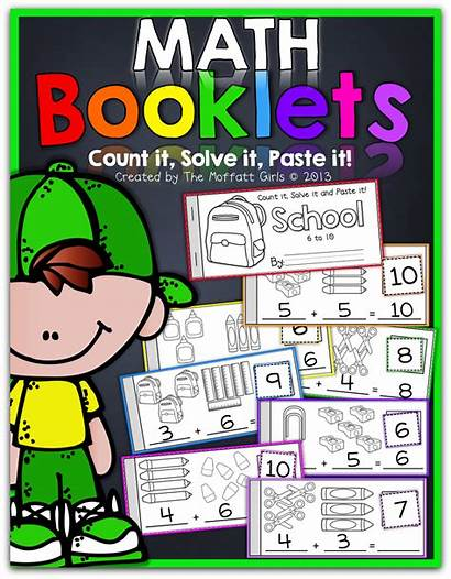 Math Booklets Moffatt Addition Kindergarten Preschool Subtraction
