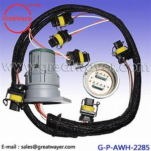 China 12 Pin Te Connector Fuel Injector Wiring Harness For