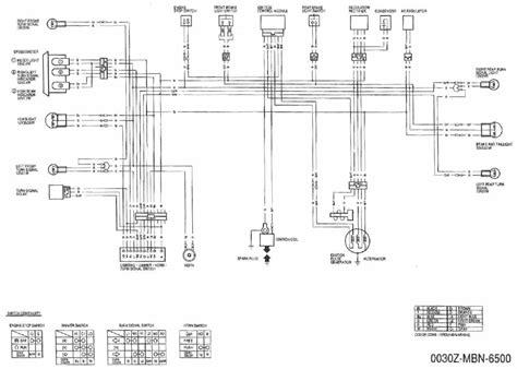 Honda Xr650l Wiring Diagram by Honda Xr650r U Wiring Diagram Xr650r