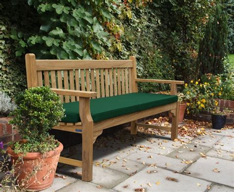 Traditional Benches by Taverners Teak Traditional 6ft Garden Bench 1 8m