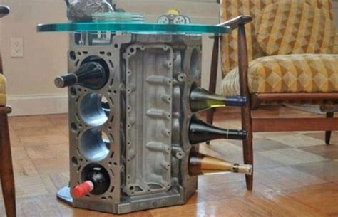 auto parts furniture 25 creative exles of furniture made from car parts quot diy for the