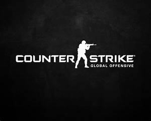 Counter-Strike: Global Offensive (Dark Logo) HD Wallpaper ...