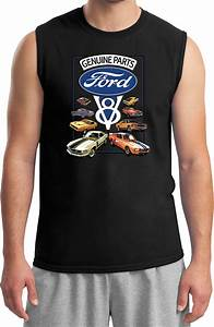 Ford Mustang T-shirt V8 Collection Muscle Tee   eBay