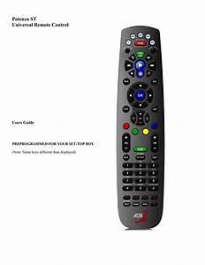 User Guide For Adb Remote  Potenza St