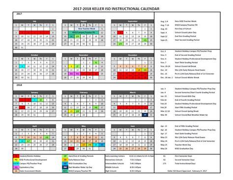 keller isd calendar qualads