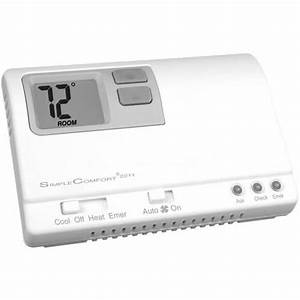 Sc2211l - Icm Controls Sc2211l - Non-programmable Simplecomfort Thermostat  2 Cool Heat