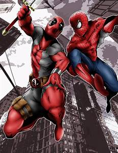 Deadpool and Spiderman Vs SpiderGwen and Gwenpool ...