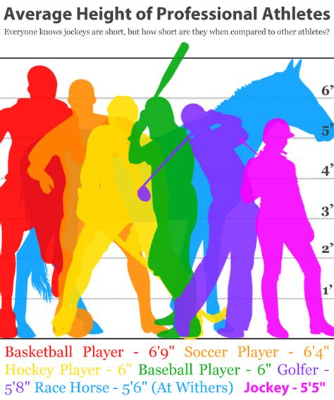 Average Height Of Professional Athletes