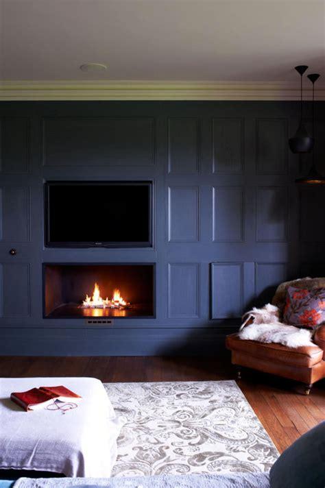 fireplace built   wall interior design ideas