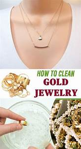 Clean gold jewelry, Gold jewelry and Cleanses on Pinterest