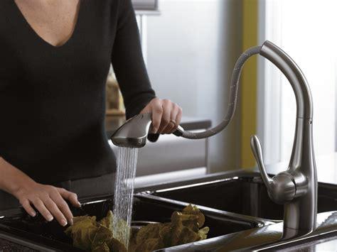 hansgrohe  allegro pull  kitchen faucet steel