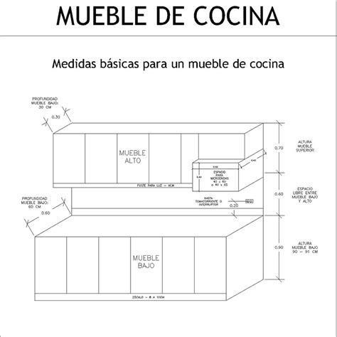 medidas arquitectonicas  de arquitectura medidas de  mueble de cocina   modular de cocina