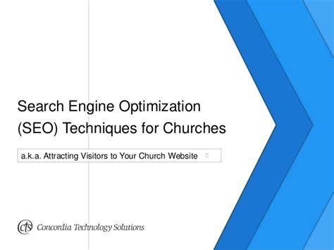 search optimization techniques search engine optimization seo techniques for churches