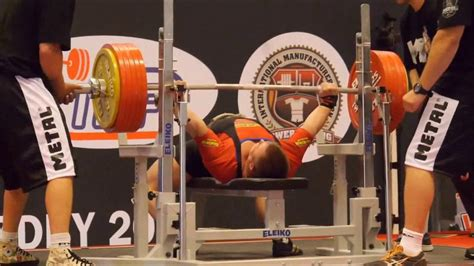 Bench Press Facts by 300 Kg Bench Press Records In History Ipf