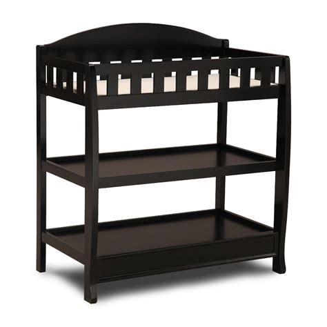 black baby changing table changing tables get the best baby changing tables at sears