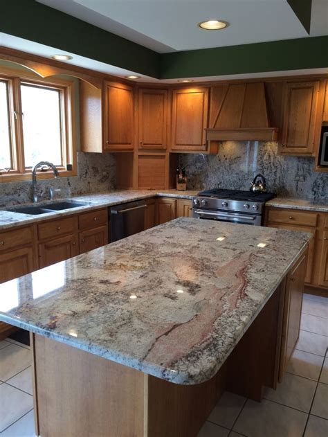 New Monte Carlo granite counters, backsplash, granite sink