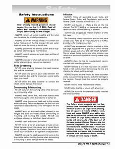 Safety  Danger Warning  Safety Instructions