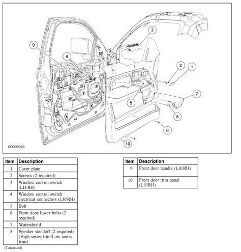 2006 Ford F 150 Door Lock Wiring Diagram by 2005 Ford F150 Interior Parts Diagram Brokeasshome