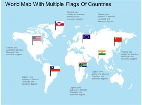 apt world map  multiple flags  countries flat
