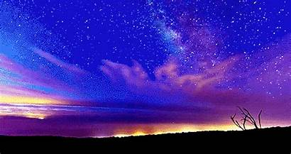 Sky Night Animated Stars Summer Amazing Gifs