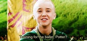 #HP20 moments when sassy Draco made me laugh💕 | Harry ...