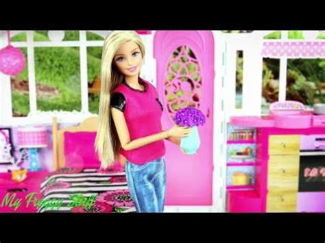 Barbie Glam Getaway House Review  Youtube  Doll Stuff