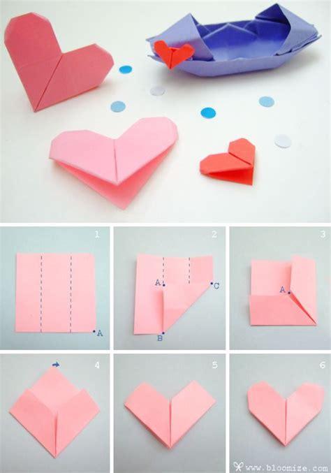 origami heart  love origami   cute   tie