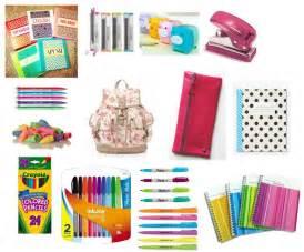 High School Supplies List