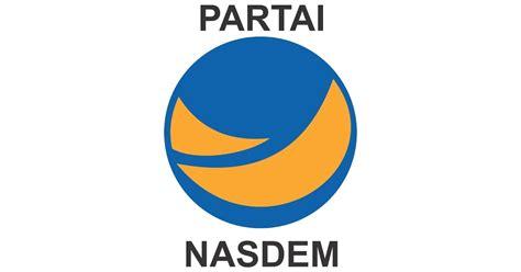 logo partai nasional demokrat   desain