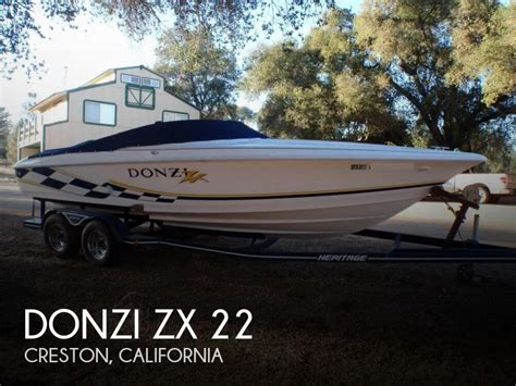 Donzi Boats For Sale California by For Sale Used 2001 Donzi Zx 22 In Creston California