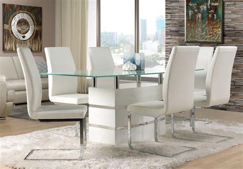 White Leather Dining Room Chairs  Decor Ideasdecor Ideas