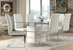 White leather dining room chairs decor ideasdecor ideas for White leather dining room chairs