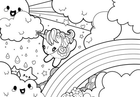 Get This Unicorn Coloring Pages Free Printable 51582