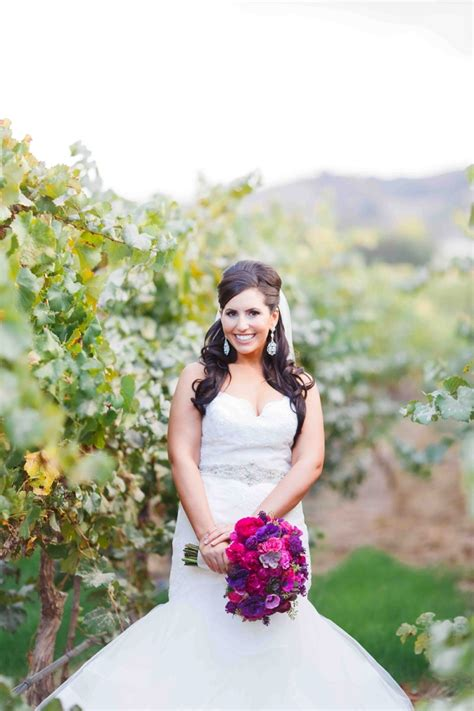 Modern Glam Winery Wedding In Pleasanton » Napa Valley