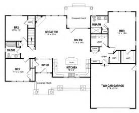 Ranch Floor Plan House Plan 94182 At Familyhomeplans