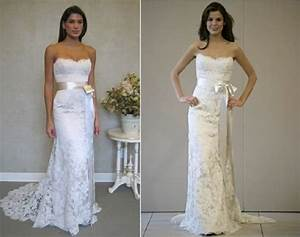 Ivory vs white wedding gown ivory vs white wedding dress for White or ivory wedding dress
