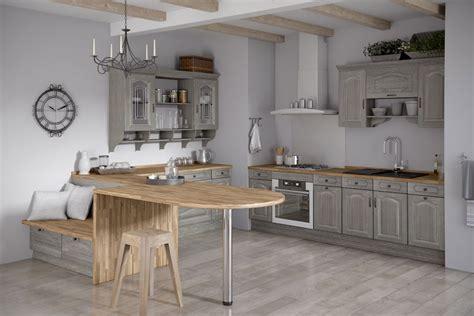 meubles cuisine gris meuble cuisine bois gris le bois chez vous
