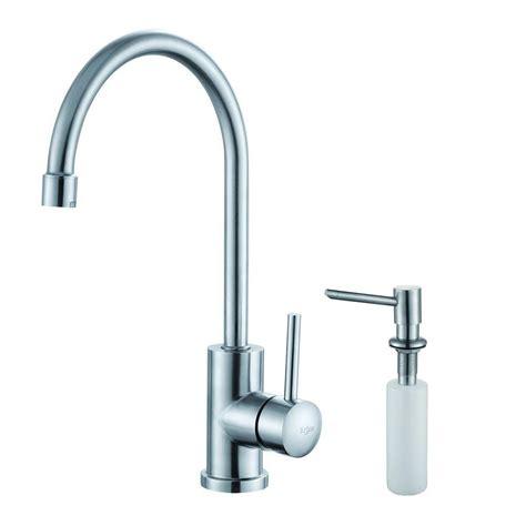 restaurant faucets kitchen kraus single handle stainless steel kitchen bar faucet