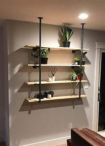 Industrial, Style, Diy, Pipe, Shelves, The, Easy, Way