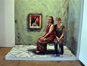 People Transformed Into Paintings