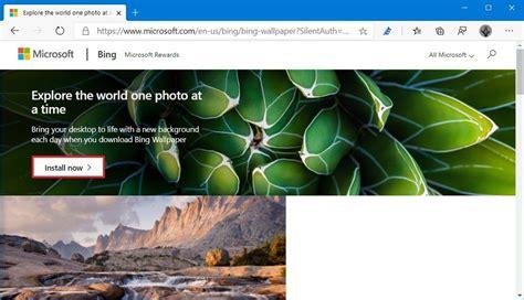 Comment Définir Des Images Bing Quotidiennes Comme Fonds D