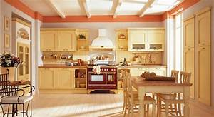 rustic moden kitchen combined with dining spaces with With kitchen colors with white cabinets with dinning room wall art