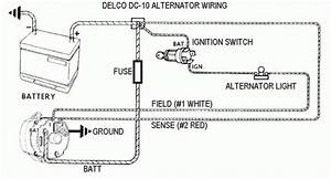 Alternator Wire Diagram